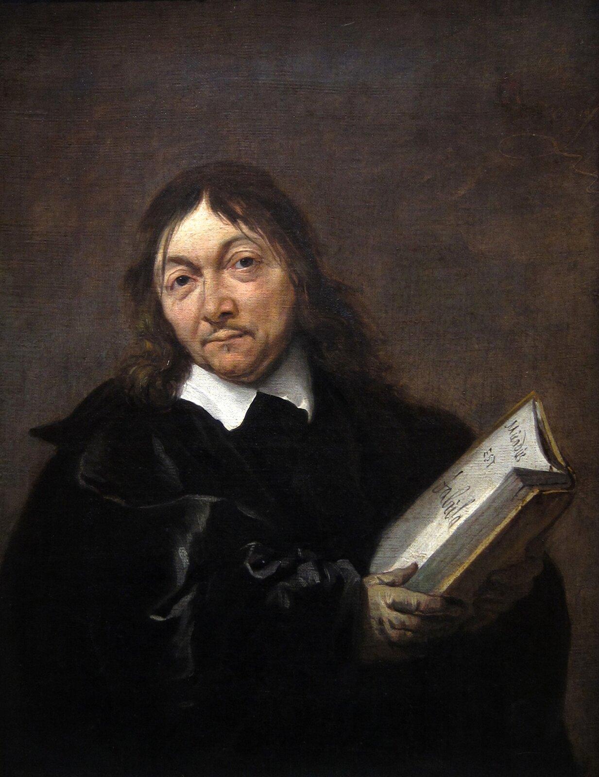 René Descartes (Kartezjusz) René Descartes (Kartezjusz) Źródło: Jan Baptist Weenix, 1647–1649, olej na płótnie, Centraal Museum, Utrecht, domena publiczna.