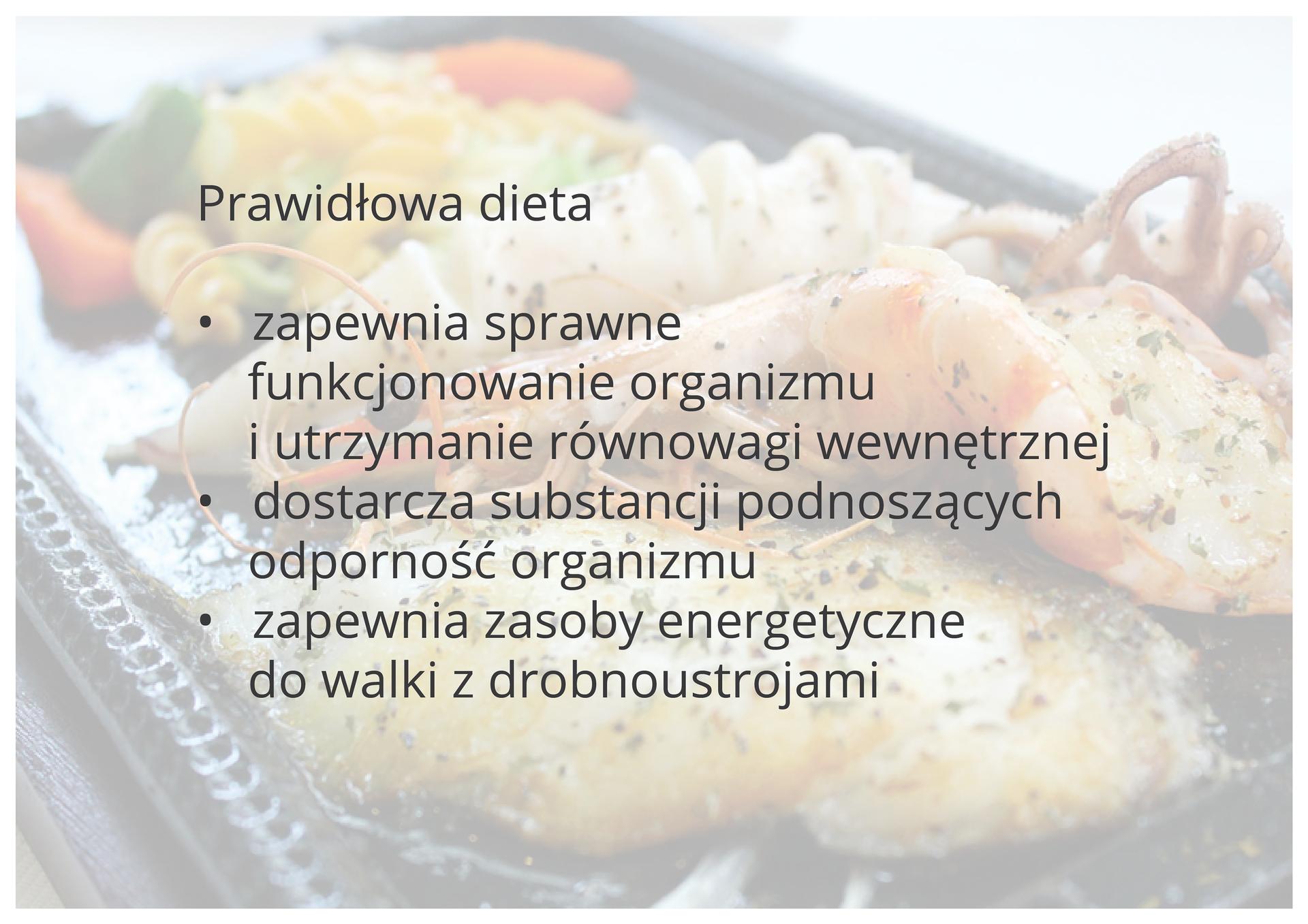 Prawidłowa dieta