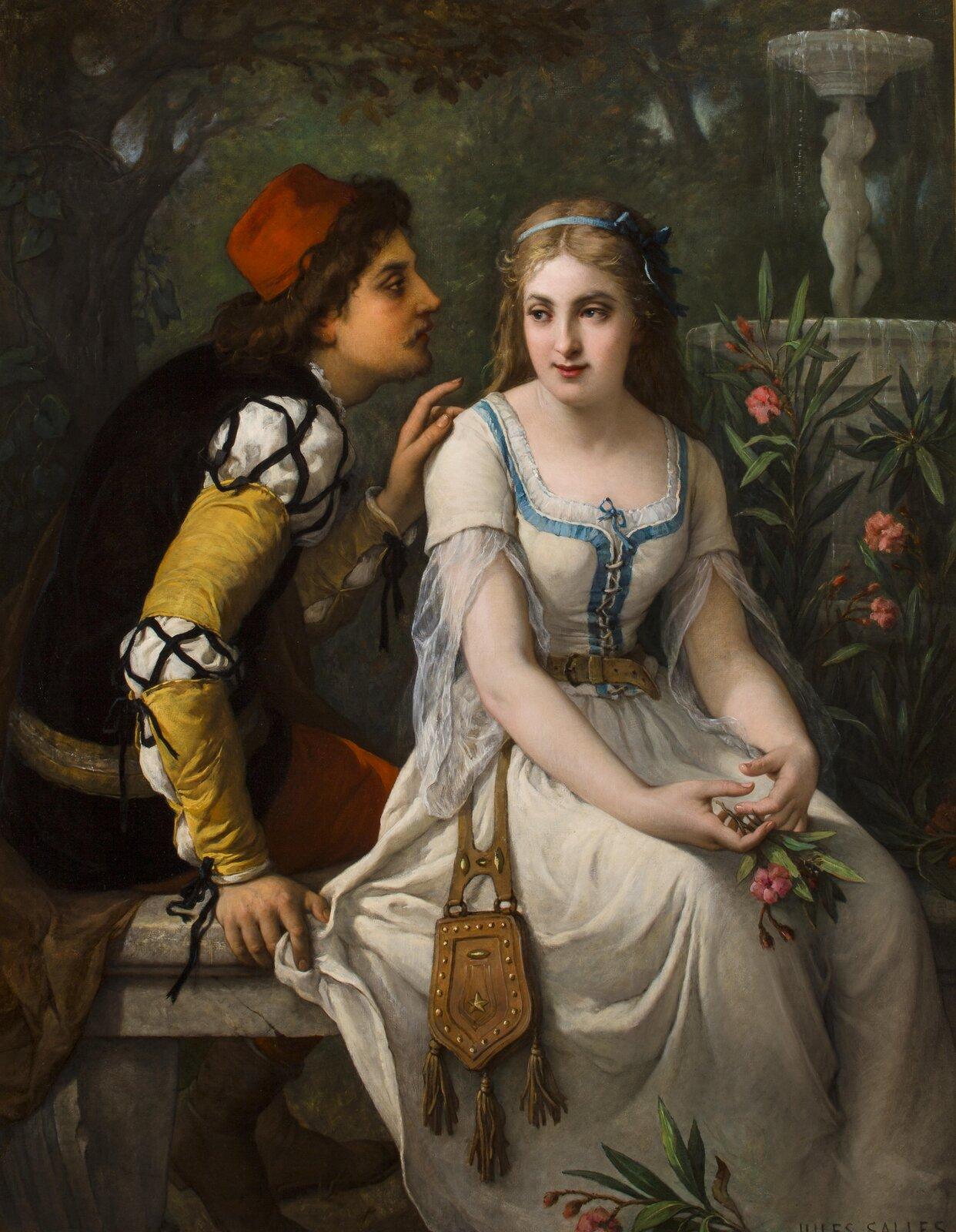 Romeo iJulia Źródło: Jules Salles-Wagner, Romeo iJulia, ok. 1898, olej na płótnie.