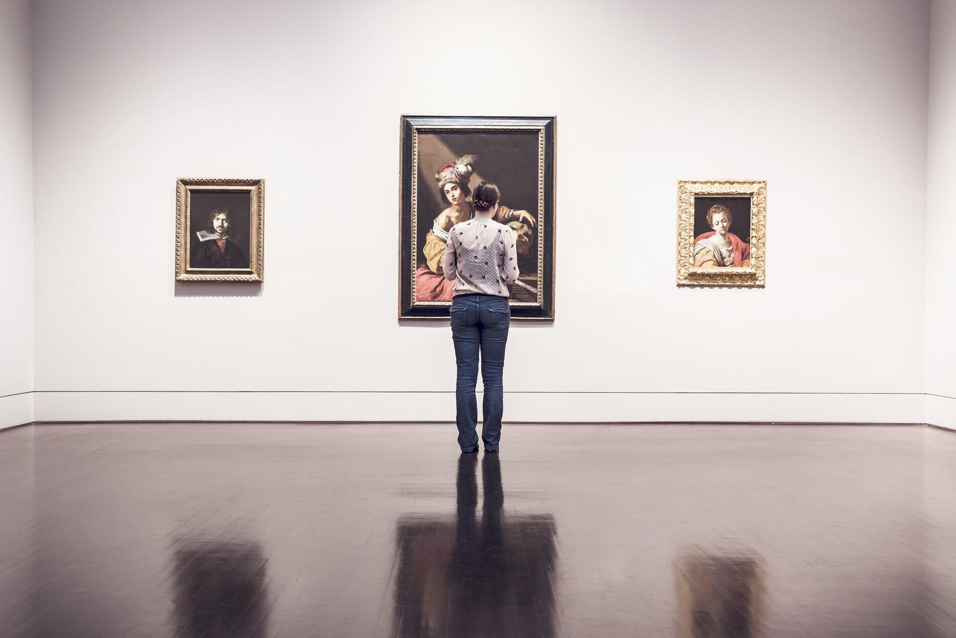 galeria sztuki zdj Źródło: licencja: CC 0.