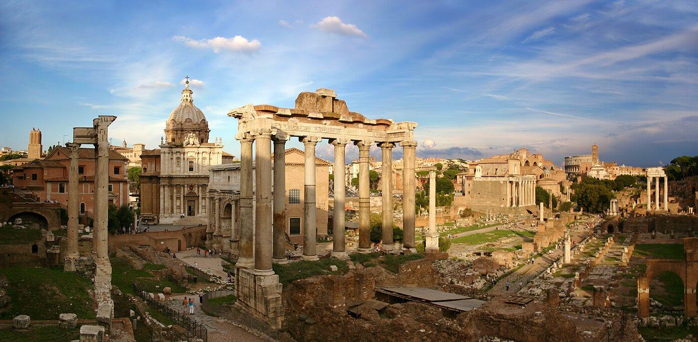 Forum Romanum Forum Romanum Źródło: Stefan Bauer, licencja: CC BY-SA 2.5.