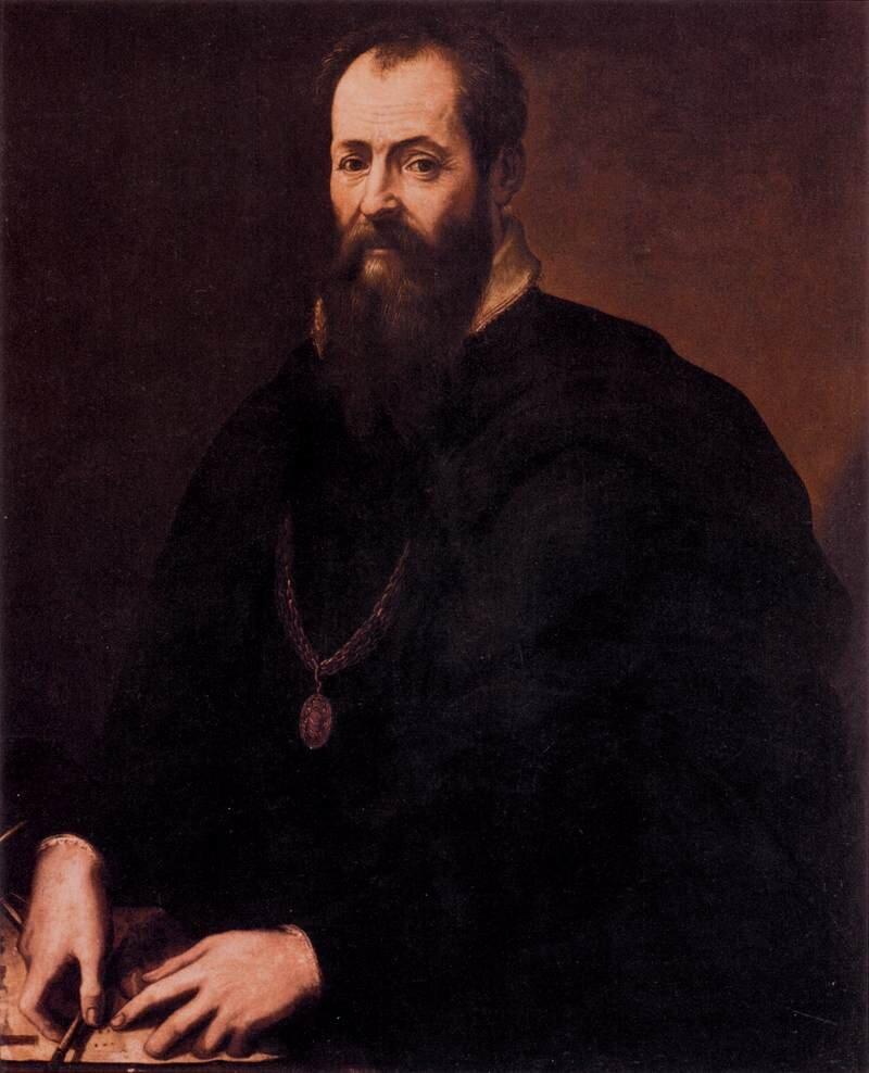 Autoportret Vasari był jednym znajważniejszych twórców odrodzenia. Uświadamiał współczesnych, że nie żyją już wczasach średniowiecza. Źródło: Giorgio Vasari, Autoportret, 1568, domena publiczna.