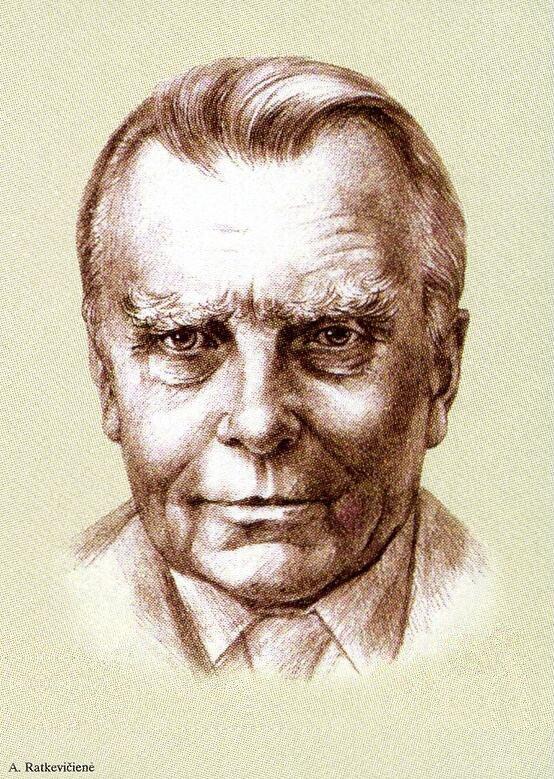 Czesław Miłosz na znaczku pocztowym Czesław Miłosz na znaczku pocztowym Źródło: A. Ratkevičiené, domena publiczna.