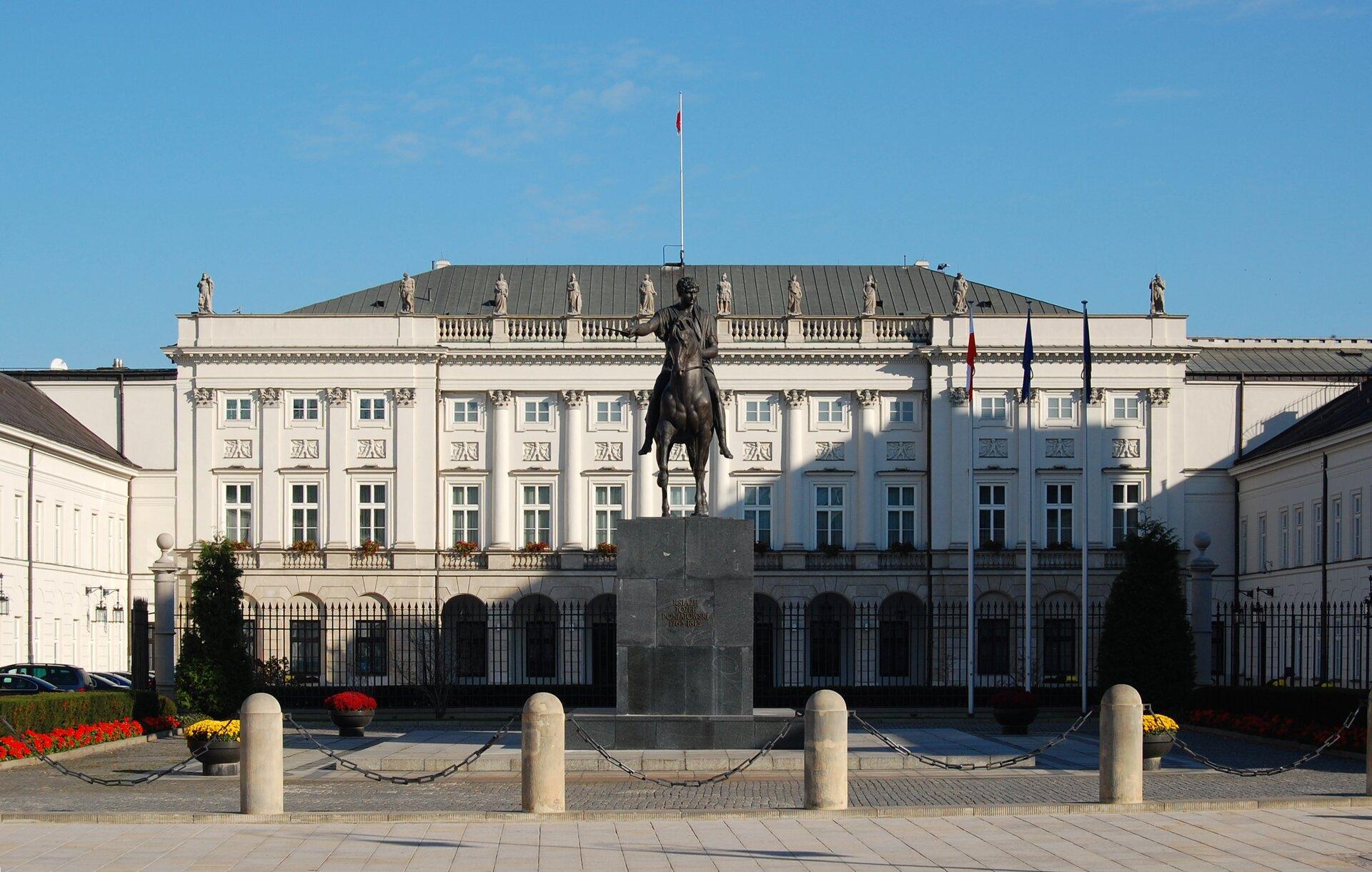 Pałac Prezydencki Pałac Prezydencki Źródło: Marcin Białek, licencja: CC BY 4.0.