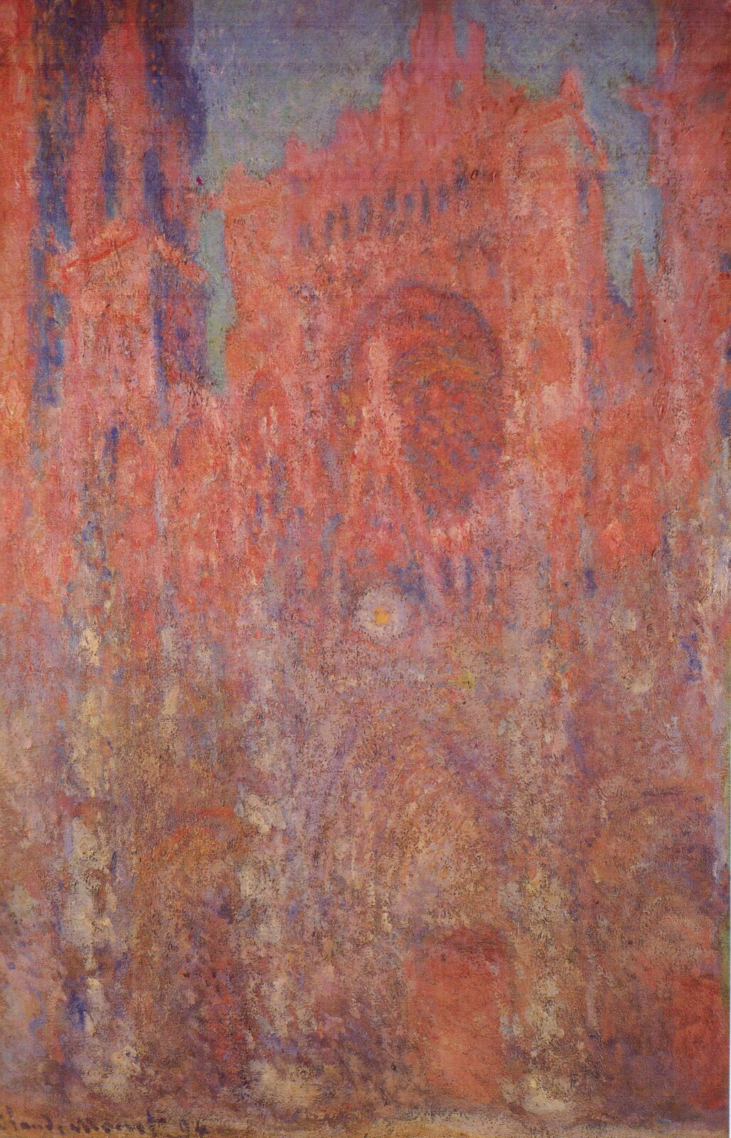 "Claude Monet, ""Katedra wRouen"", 1892, olej na płótnie, Muzeum Sztuki Pola, Hakone, Japonia, wikimedia.org, domena publiczna"
