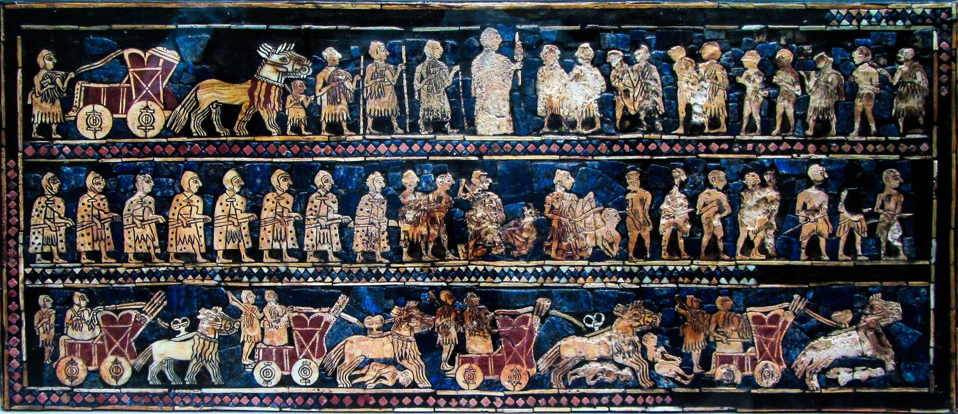 Sztandar zUr, strona wojenna Sztandar zUr, strona wojenna Źródło: LeastCommonAncestor, Wikimedia Commons, licencja: CC BY-SA 3.0.
