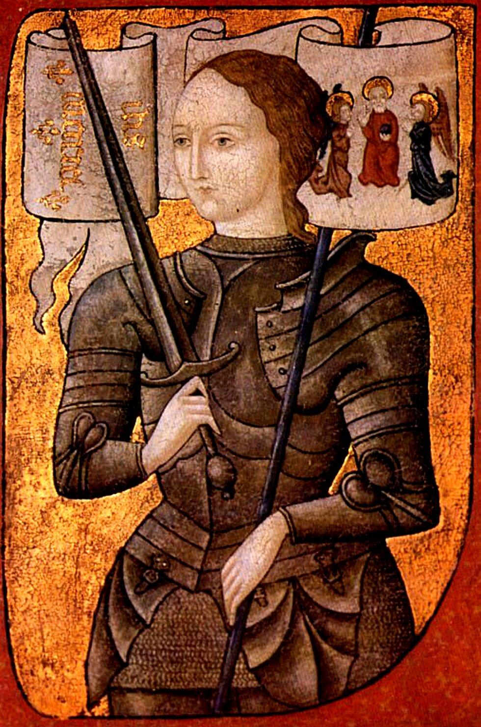 Joanna d'Arc to najsłynniejsza wśredniowieczu kobieta-rycerz Joanna d'Arc to najsłynniejsza wśredniowieczu kobieta-rycerz Źródło: domena publiczna.