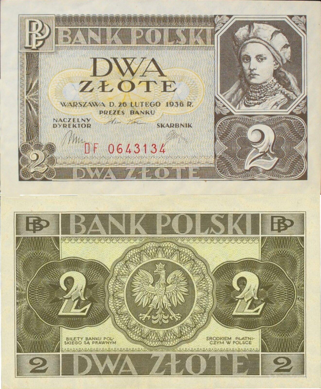 Banknot polski Banknot polski Źródło: Bank Polski, licencja: CC 0.