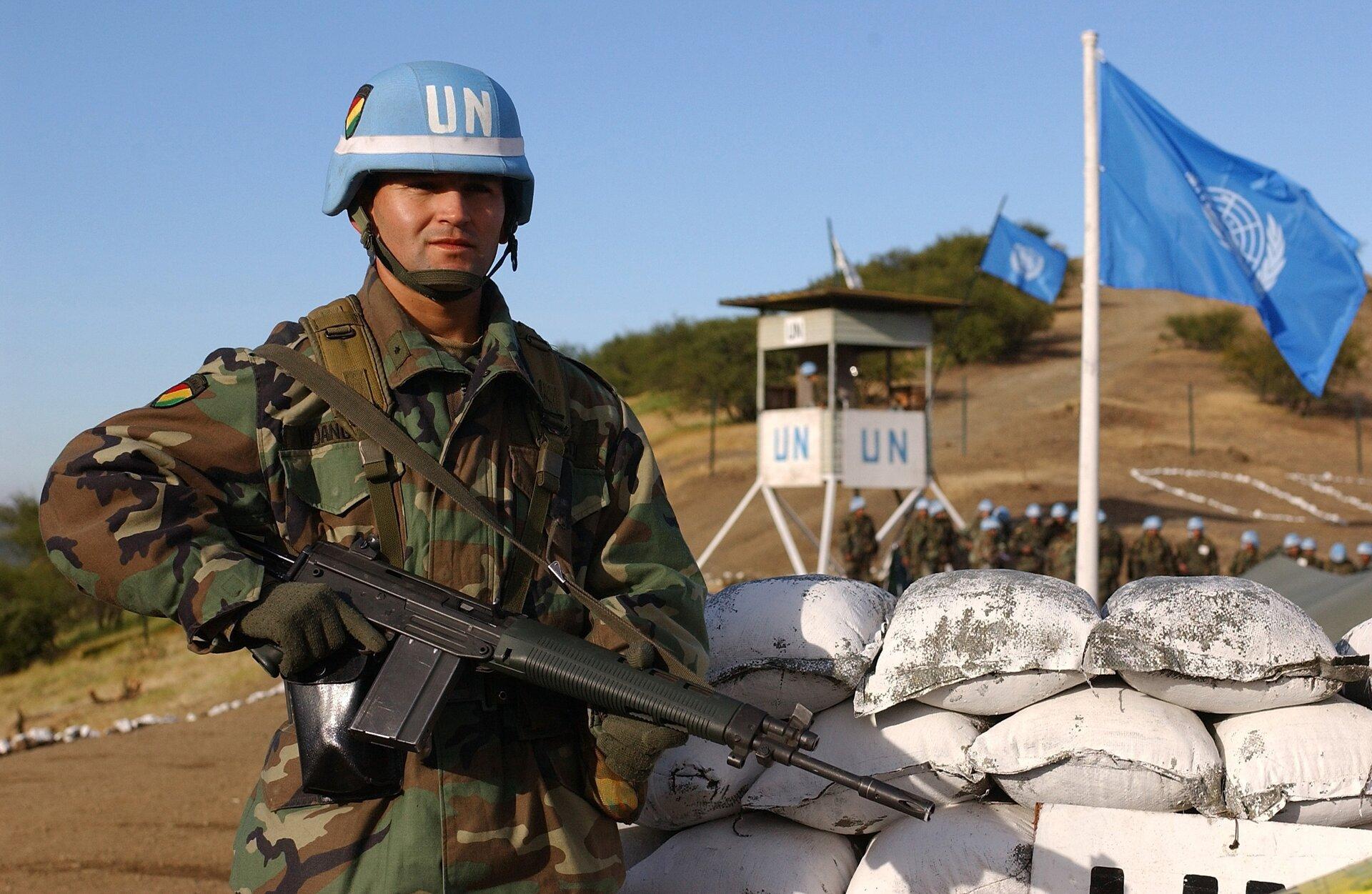 Wojska ONZ wChile Źródło: JoAnn S. Makinano, Wojska ONZ wChile, licencja: CC 0.