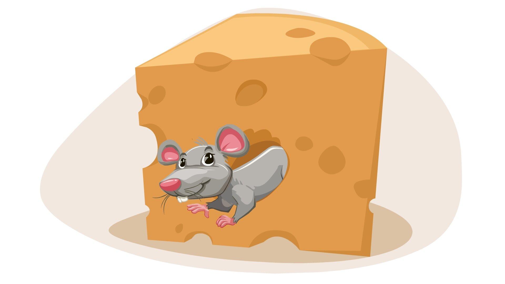 Ilustracja przedstawia mysz wserze.