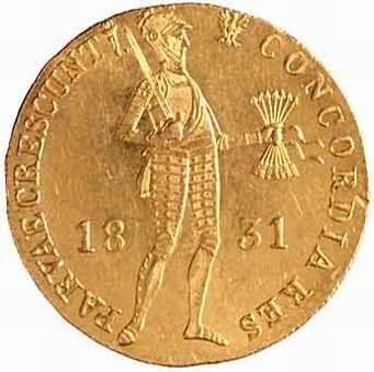 Dukat powstańczy 1831 Źródło: Mzopw, Dukat powstańczy 1831, 2004, licencja: CC BY-SA 3.0.