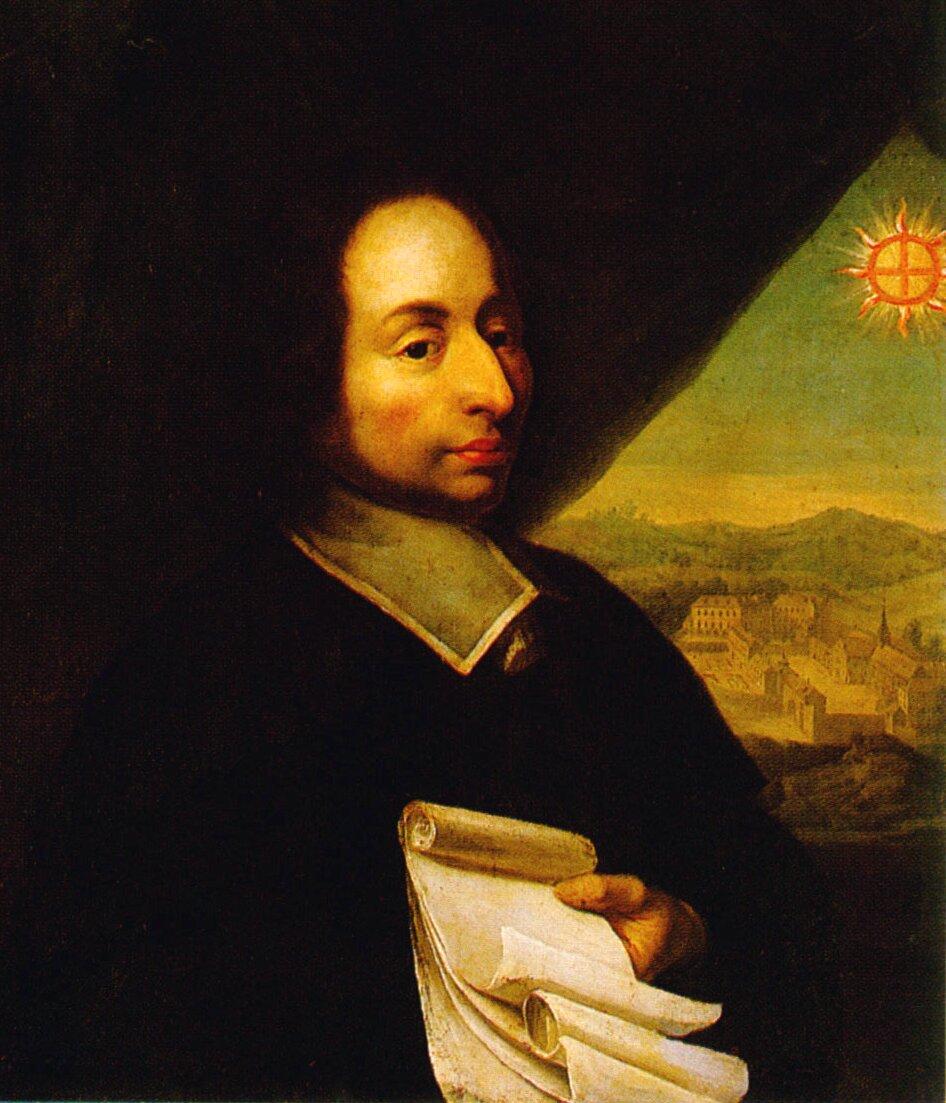 Blaise Pascal Blaise Pascal Źródło: autor nieznany, XVII wiek, domena publiczna.