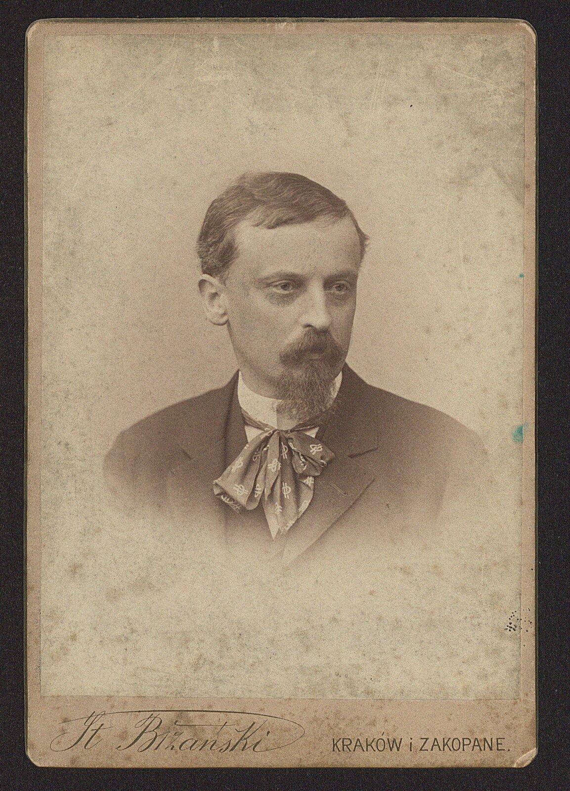 Henryk Sienkiewicz - portret Źródło: Biblioteka Narodowa, licencja: CC 0.