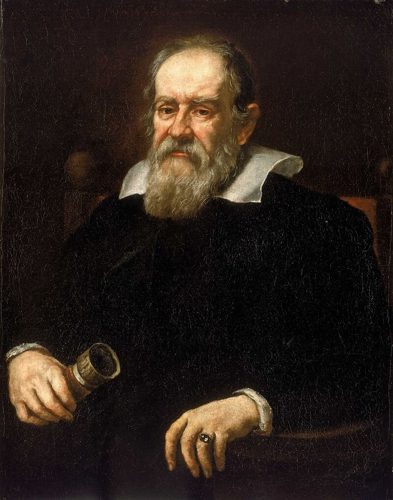 Galileusz Galileusz Źródło: Justus Susterman, 1636, National Maritime Museum, Greenwich, London, domena publiczna.