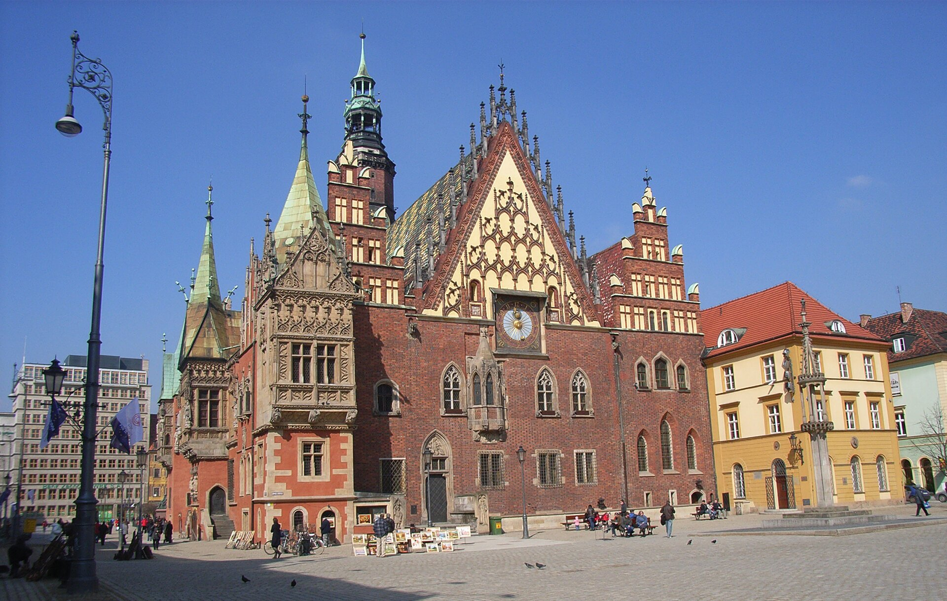 Stary Ratusz we Wrocławiu Stary Ratusz we Wrocławiu Źródło: Südstädter, Wikimedia Commons, licencja: CC BY 3.0.