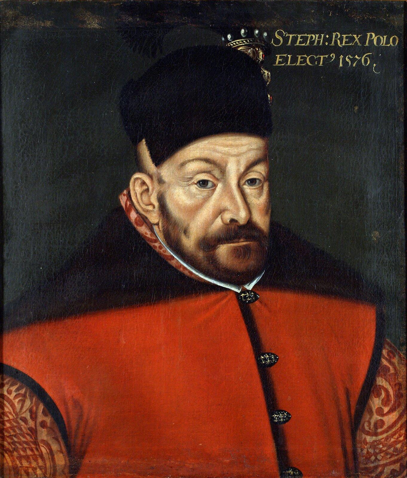 Portret Stefana Batorego Portret Stefana Batorego Źródło: anonimowy artysta, 1576, domena publiczna.