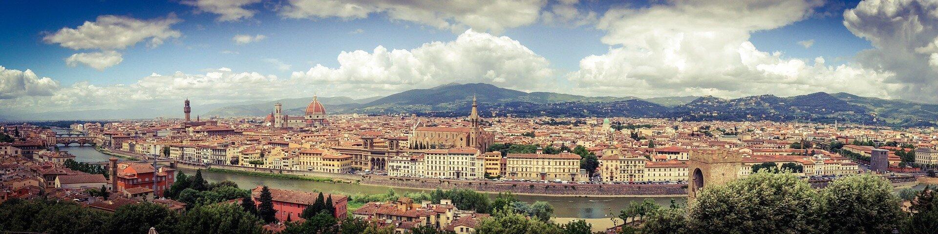 Florencja – jedno znajpiękniejszych renesansowych miast Włoch Florencja – jedno znajpiękniejszych renesansowych miast Włoch Źródło: domena publiczna.