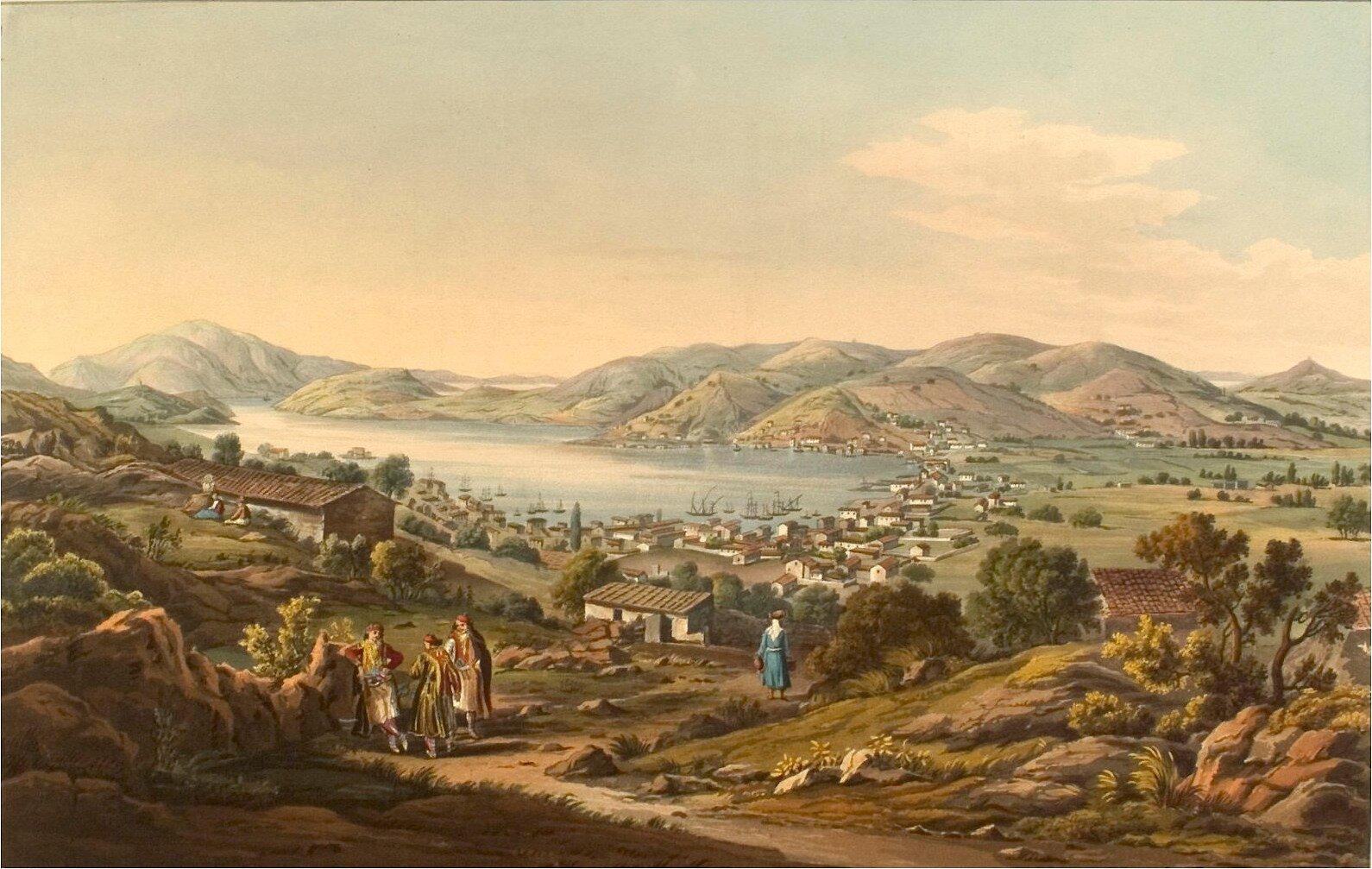 Itaka Źródło: Edward Dodwell, Itaka, 1821, domena publiczna.