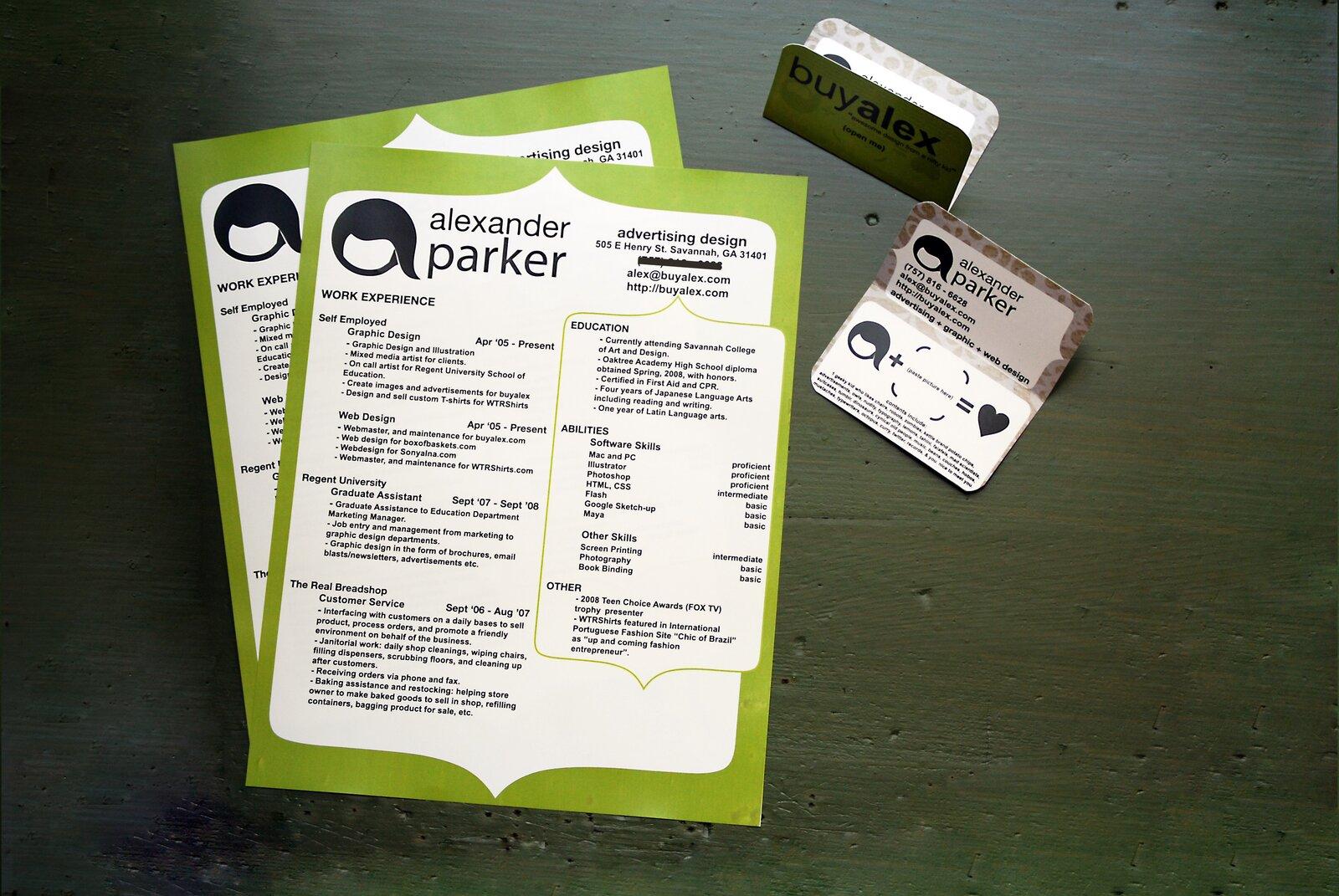 Przykładowe CV Źródło: Alexander Parker, Przykładowe CV, licencja: CC BY 2.0.