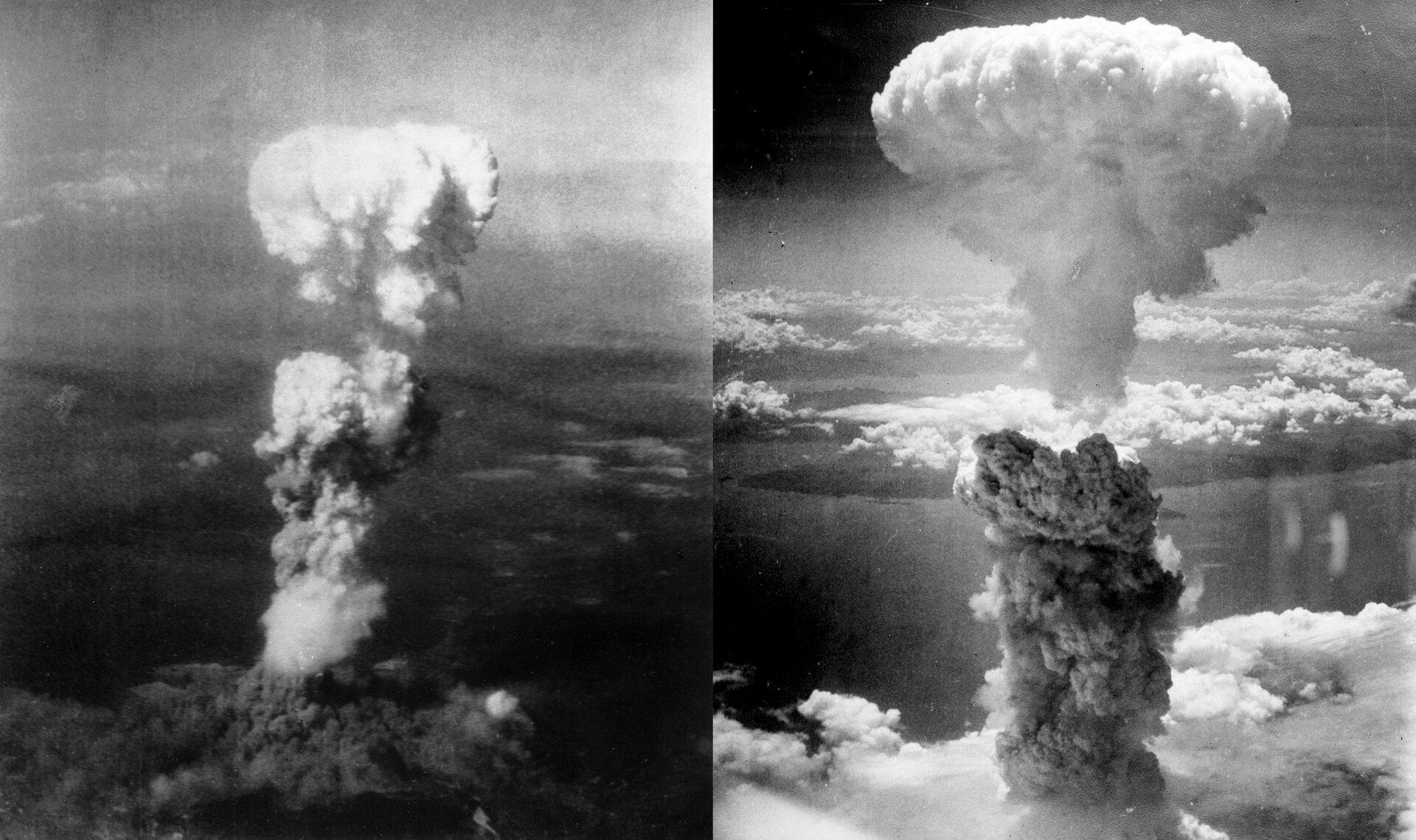 Bombardowanie Nagasaki iHiroszimy Zdjęcie nr 1 Źródło: Binksternet, Bombardowanie Nagasaki iHiroszimy, licencja: CC BY-SA 3.0.