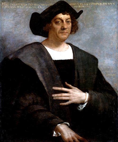 Krzysztof Kolumb Krzysztof Kolumb Źródło: Sebastiano del Piombo, Krzysztof Kolumb, domena publiczna.