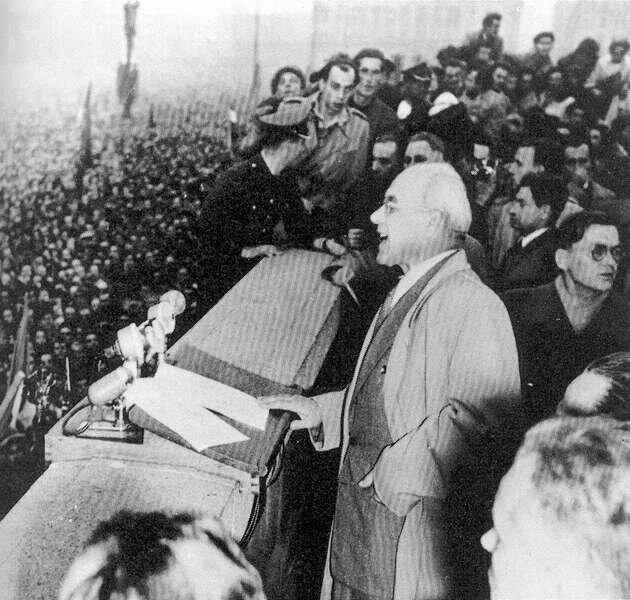 Przemówienie Gomułki na wiecu wWarszawie 24 października 1956