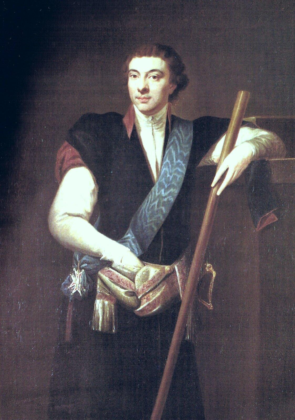 Marszałek Sejmu Wielkiego Kazimierz Nestor Sapieha Źródło: Józef Peszka, Marszałek Sejmu Wielkiego Kazimierz Nestor Sapieha, 1791, domena publiczna.