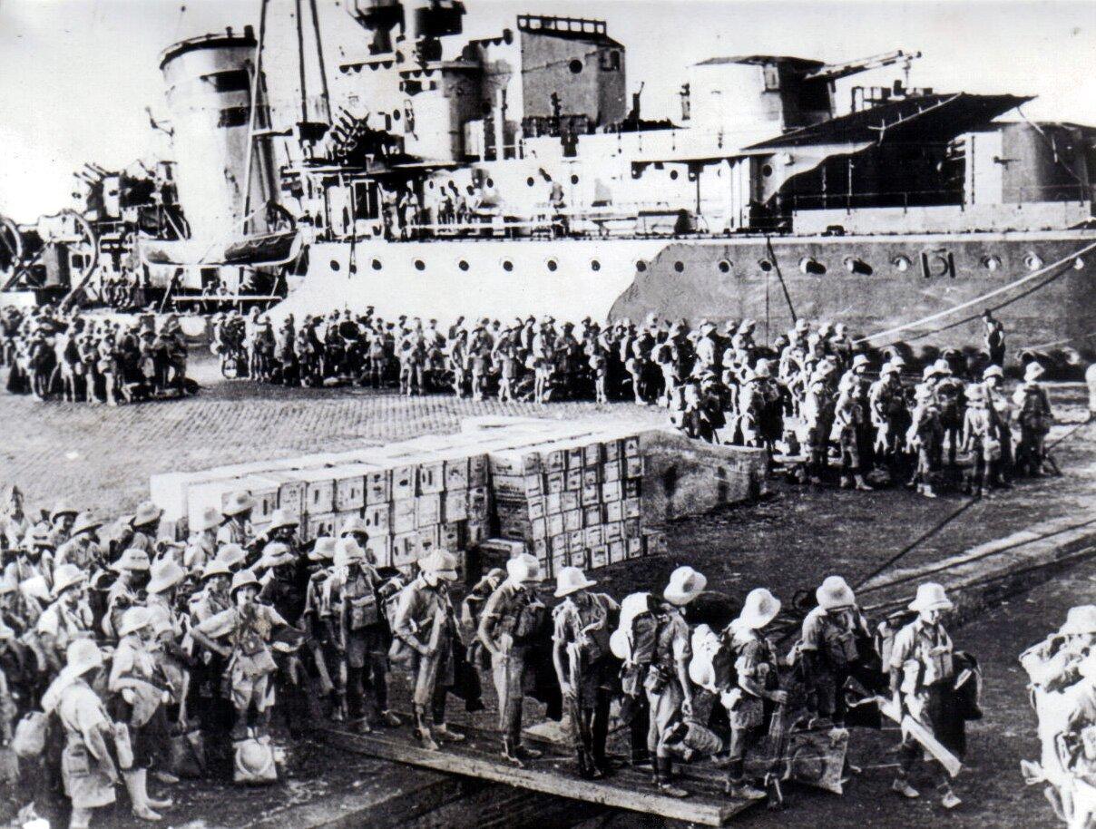Dotarcie do Tobruku Brygady Karpackiej Wojska Polskiego Zdjęcie nr 2 Źródło: Dotarcie do Tobruku Brygady Karpackiej Wojska Polskiego, licencja: CC 0.