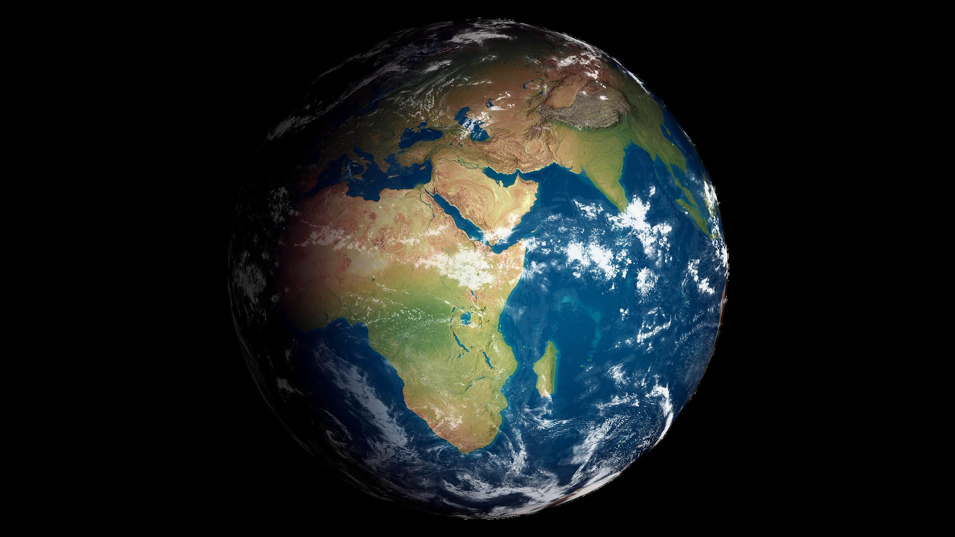 Ziemia Ziemia Źródło: domena publiczna.