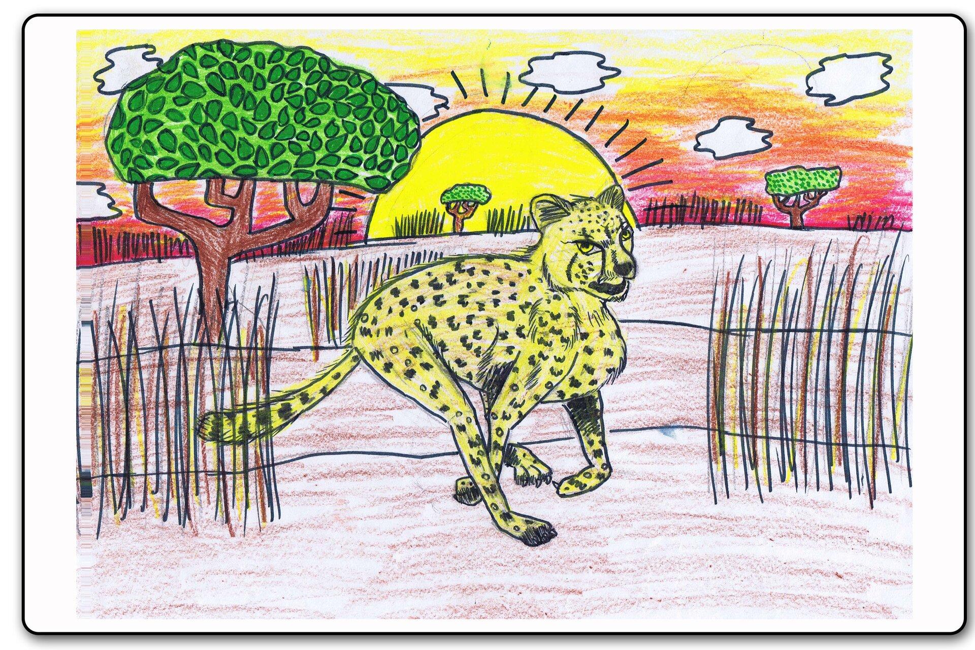 Ilustracja 12 galerii prac plastycznych uczniów