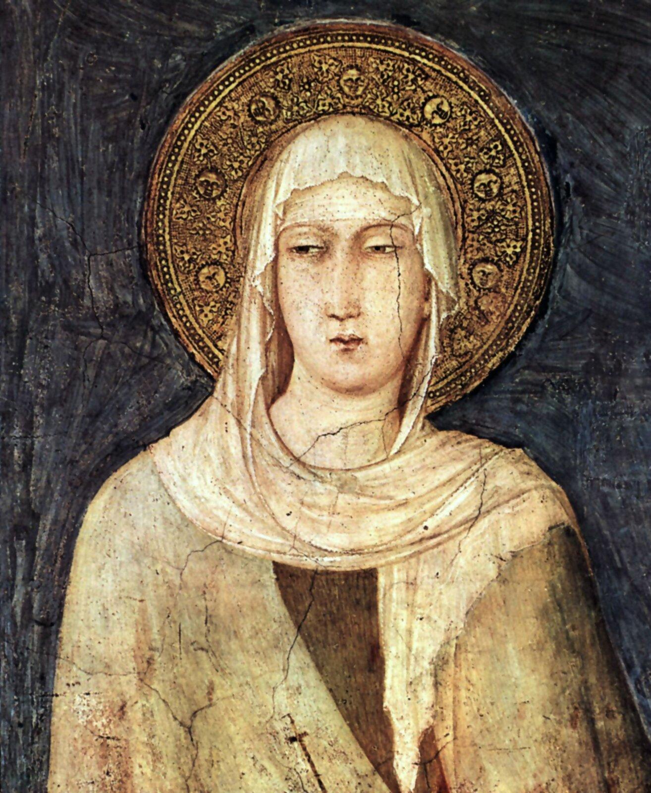 Św. Klara Św. Klara Źródło: domena publiczna.