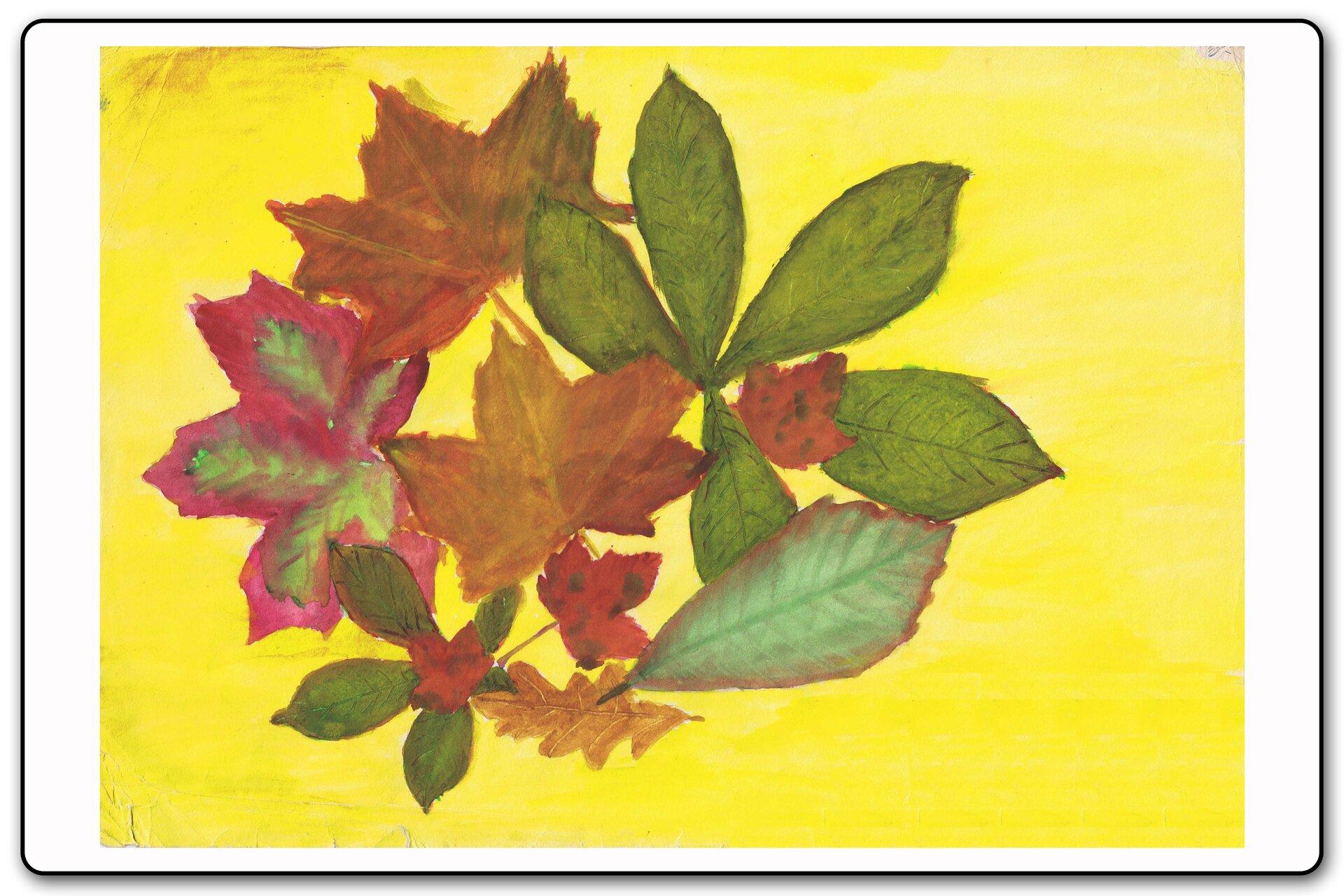 Ilustracja 4 galerii prac plastycznych uczniów