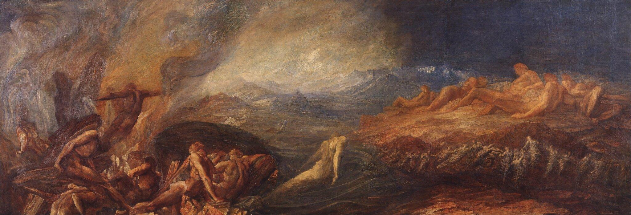 Chaos Źródło: George Frederic Watts, Chaos, 1875, domena publiczna.