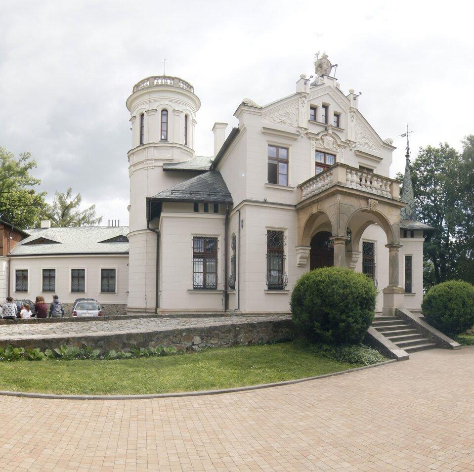 panorama Muzeum Sienkiewicza wOblęgorku
