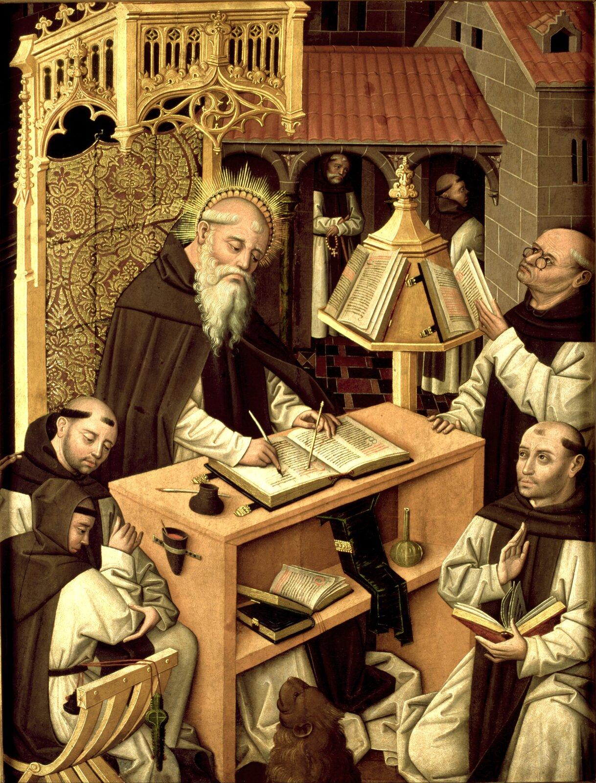 Św. Hieronim wskryptorium Św. Hieronim wskryptorium Źródło: domena publiczna.