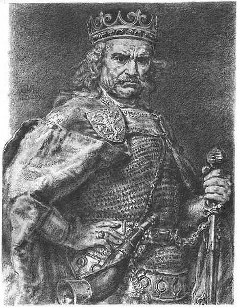 Władysław Łokietek Władysław Łokietek Źródło: Jan Matejko, domena publiczna.