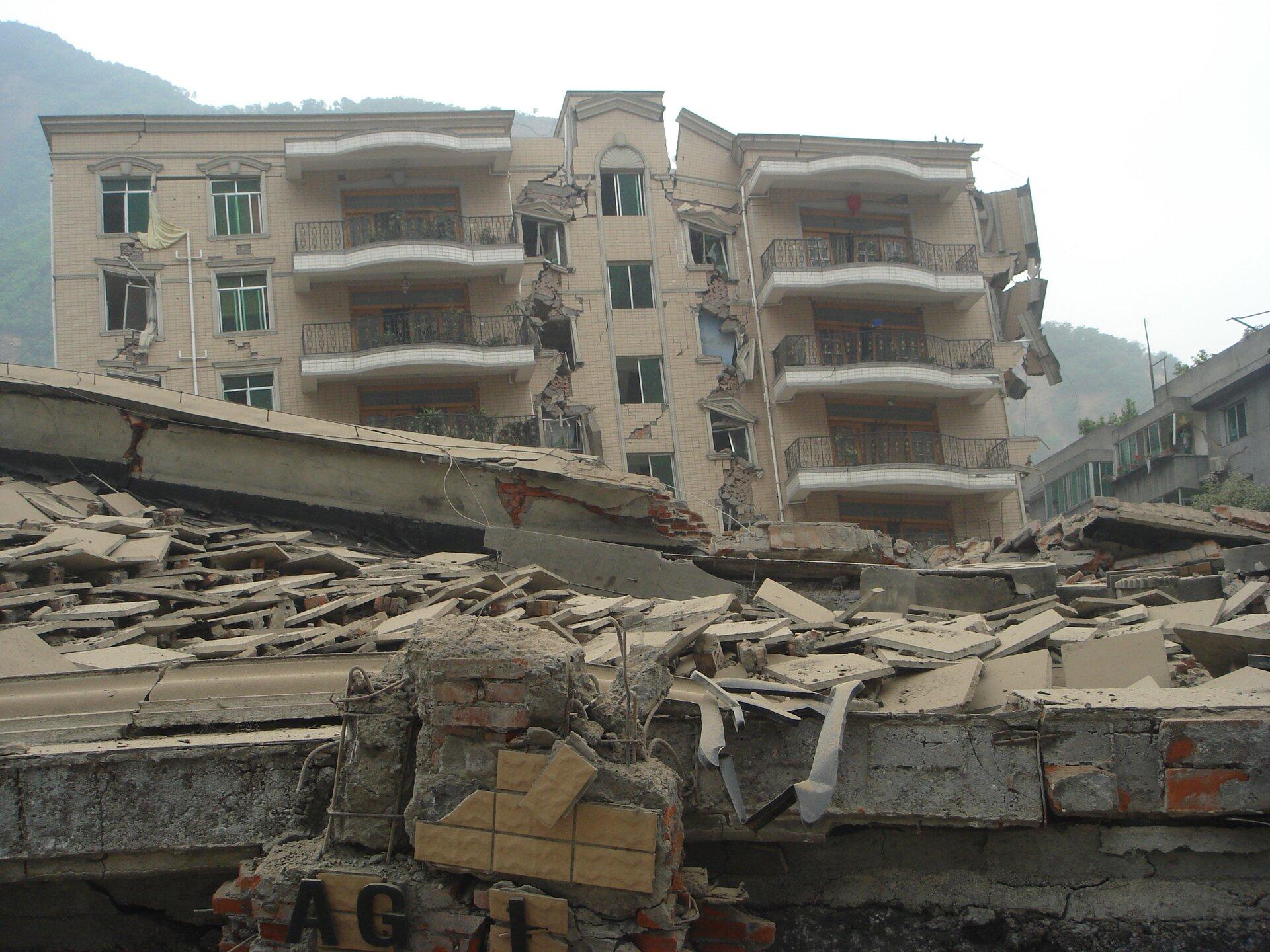 Miasto po trzęsieniu ziemi