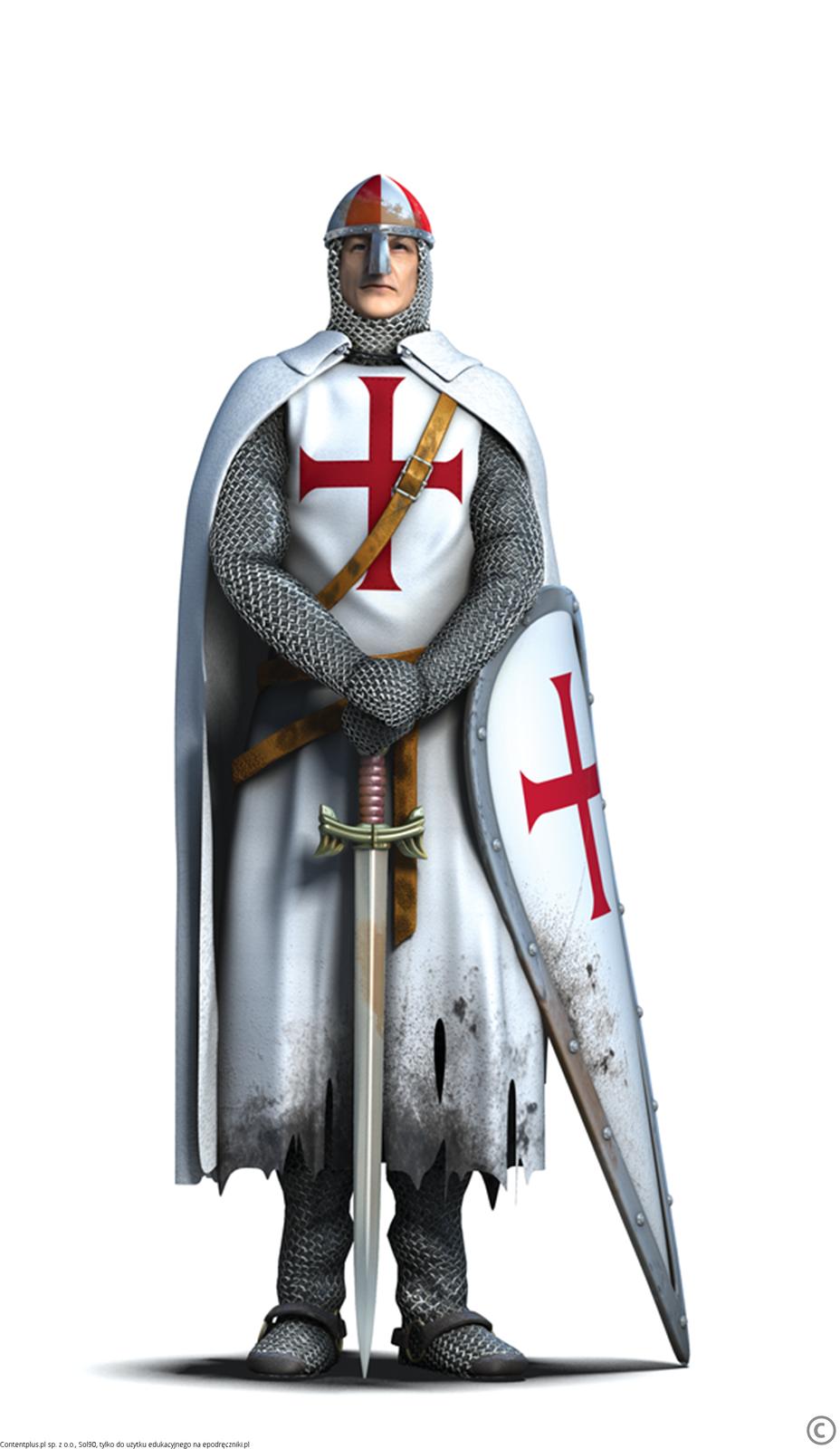 Templariusz Templariusz Źródło: Contentplus.pl sp. zo.o., Sol90, tylko do użytku edukacyjnego na epodreczniki.pl.