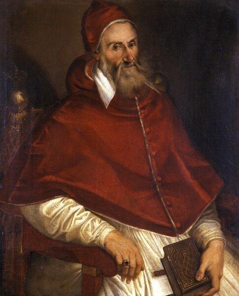 Pius IV Źródło: Bartolomeo Passarotti, Pius IV, licencja: CC 0 1.0.