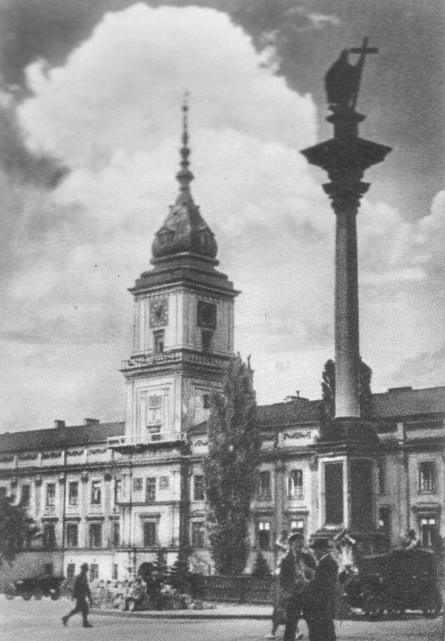 Zamek Królewski wWarszawie przed II wojną światową