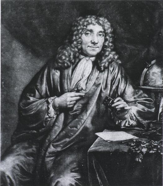 Antoni van Leeuwenhoek Antoni van Leeuwenhoek Źródło: Jan Verkolje, 1686, domena publiczna.
