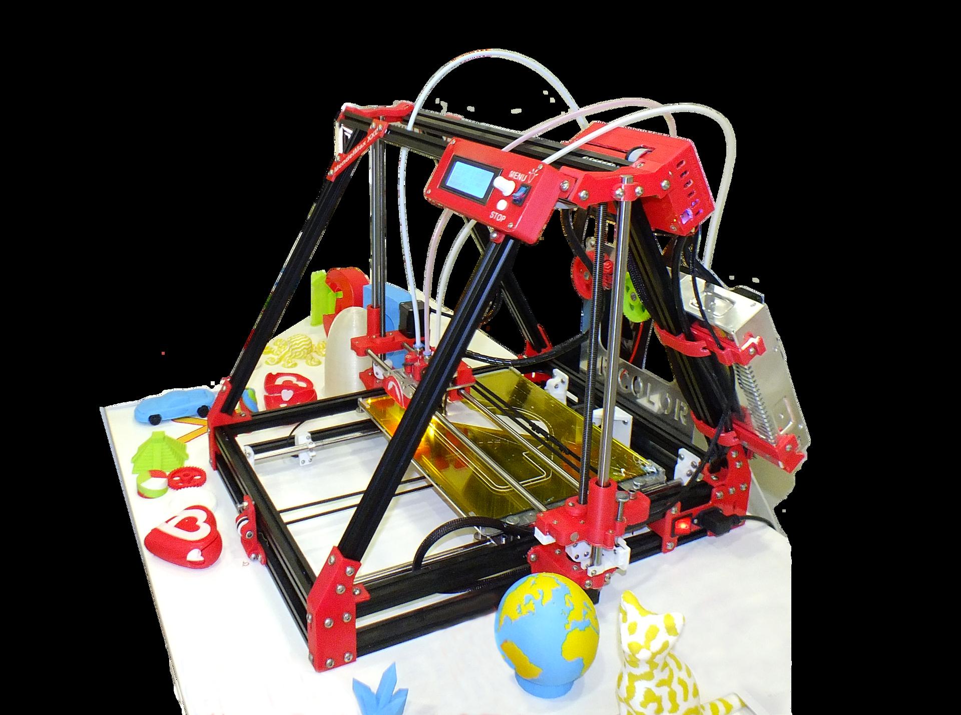 Fotografia przedstawiająca drukarkę 3D