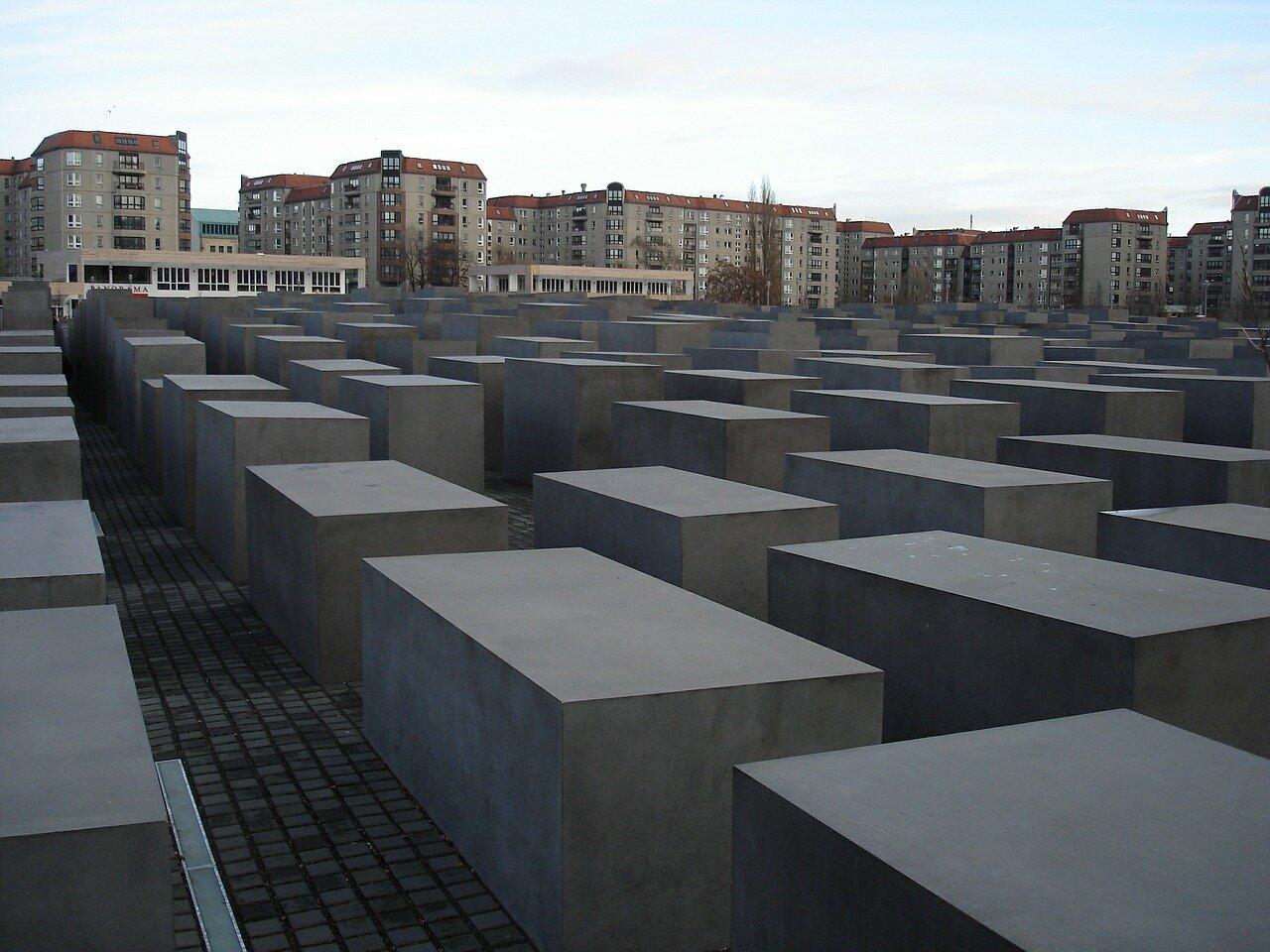 Pomnik Pomordowanych Żydów EuropywBerlinie
