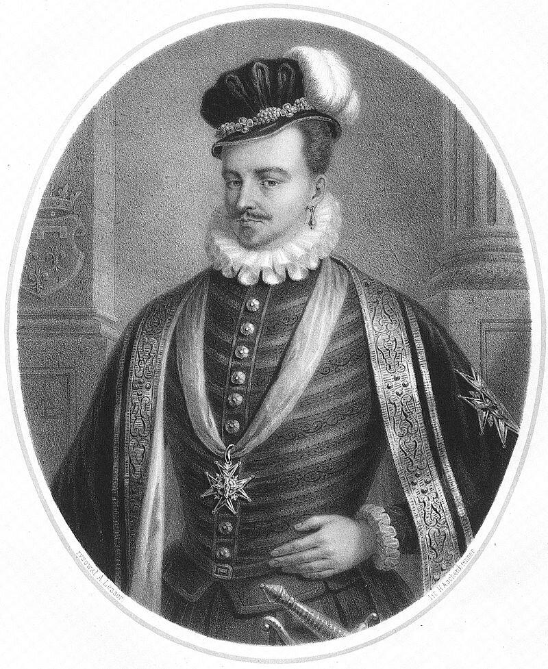 Henryk Walezy, król Polski iFrancji Henryk Walezy, król Polski iFrancji Źródło: Aleksander Lesser, 1860, domena publiczna.