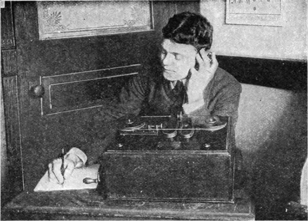 Ilustracja przedstawiająca Guglielmo Marconiego