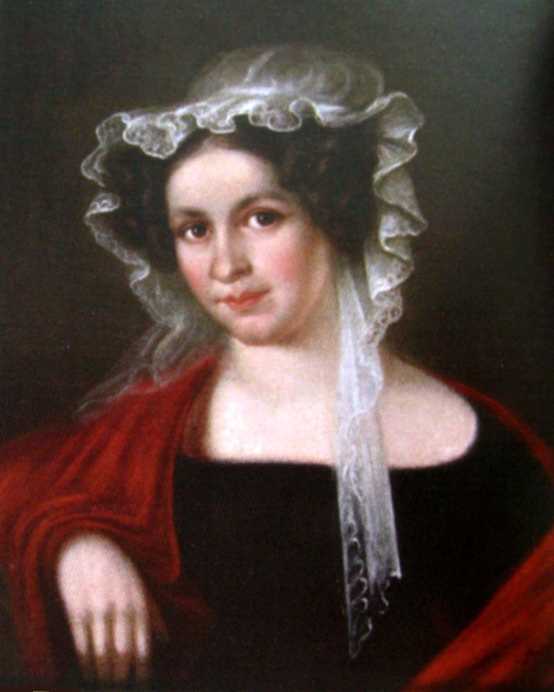 Salomea Słowacka Becú Źródło: Bonawentura Klembowski, Salomea Słowacka Becú, ok. 1820, domena publiczna.