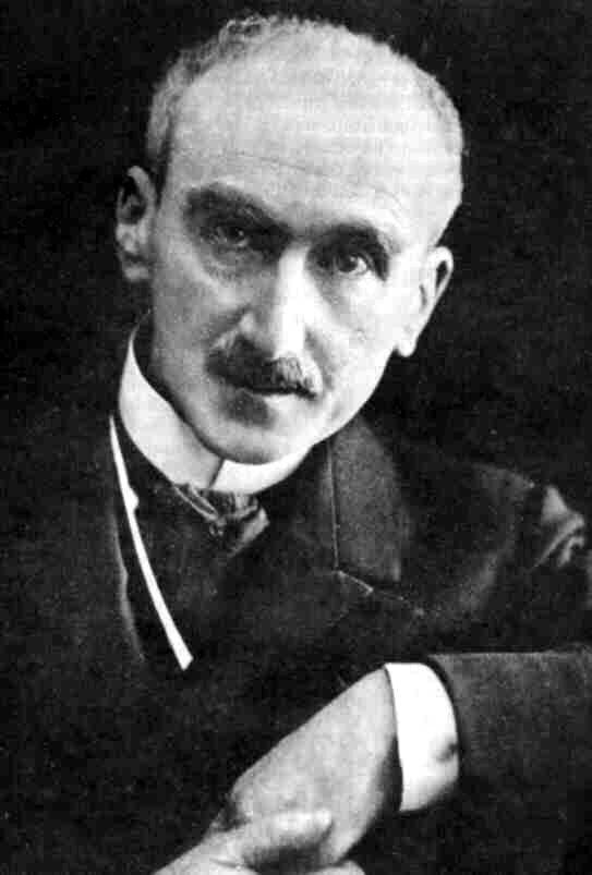 Portret HenriegoBergsona Portret HenriegoBergsona Źródło: Aaron Gerschel, 1927, domena publiczna.