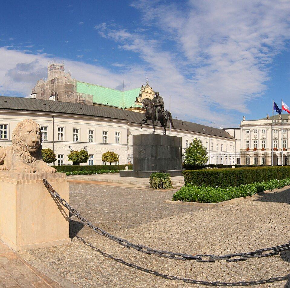 Wycieczka wirtualna po Pałacy Prezydenckim