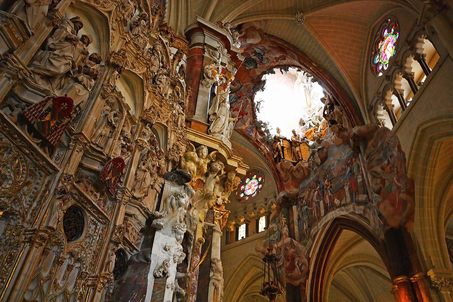 Barokowy ołtarz wkatedrze wToledo Barokowy ołtarz wkatedrze wToledo Źródło: Wenjie, Zhang, licencja: CC BY 2.0.