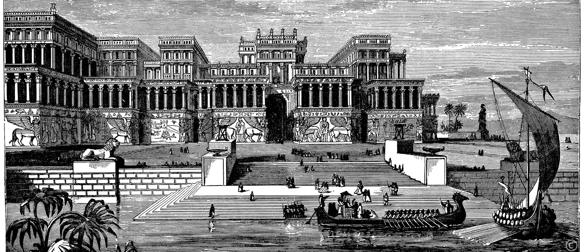Pałac królów asyryjskich wNiniwie. Badający ruiny tego miasta archeolodzy odkryli resztki pałacu królewskiego Pałac królów asyryjskich wNiniwie. Badający ruiny tego miasta archeolodzy odkryli resztki pałacu królewskiego Źródło: iStockphoto, tylko do użytku edukacyjnego na epodreczniki.pl.